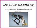 ZR-1 Fuel Pump Replacemets