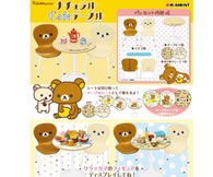 NEW DESIGN Re-ment Rilakkuma Cafe Table