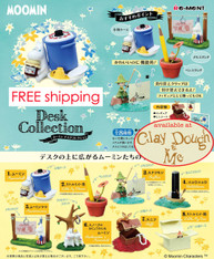 Re-ment Miniatures Moomin Desk Collection/Moomin Desk Decoration