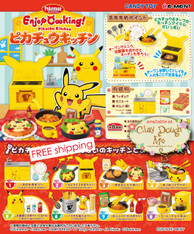 Re-ment Pikachu Kitchen, with Kitchen DISPLAY