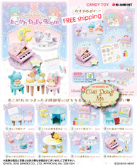OCT'18 Re-ment Miniatures Little Twin Stars Dolly Room / Re-ment Little Twin Stars Room