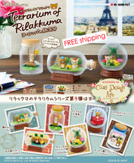 DEC'18 Re-ment Terrarium of Rilakkuma / Re-ment Rilakkuma Terrarium Travelling to Europe