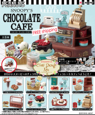JAN'19 Re-ment Snoopy's Chocolate Cafe