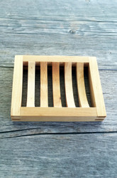 Slotted Wooden Soap Dish