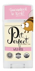 Pit Perfect Organic Deodorant Wild Rose