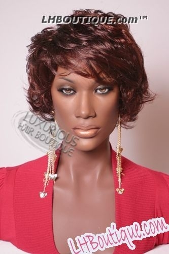 Soultress Synthetic Wig Liz Soultress Synthetic Wig Liz  Soultress Synthetic Wig Liz  Soultress Synthetic Wig Liz Soultress Synthetic Bee Hive Cap Wig - Liz