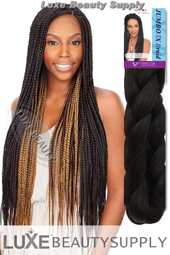 Vivica Fox Jumbo Xpression Braiding Hair J3XB - 84""