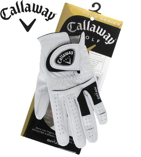 Callaway Tour Series Golf Glove Left Hand Medium Large White