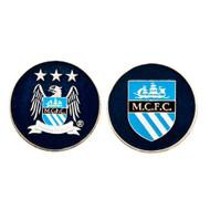 Manchester City Official Metal Golf Ball Marker