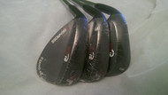Benross Mens Left Hand Zip It Gun Metal Wedges 52, 56 & 60 Degree