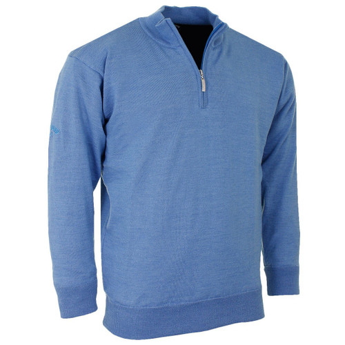 Callaway Golf Mens Merino Mix Lined Sweater Palace Blue Large