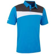 Callaway Golf Mens Asymmetric Polo Cloissnne Med