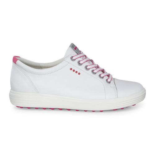 Ecco Womens Casual Hybrid Golf Shoes White