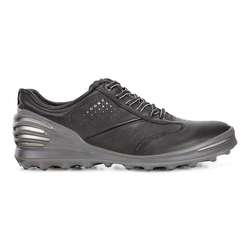 Ecco Mens Cage Pro Golf Shoes Black Extra Width Option