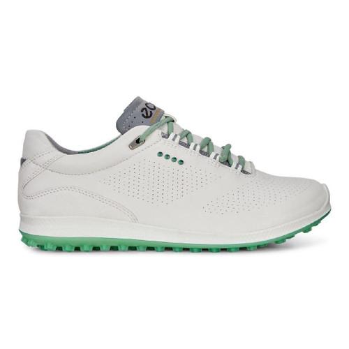 Ecco Womens Biom Hybrid 2 Golf Shoes White Granite Green