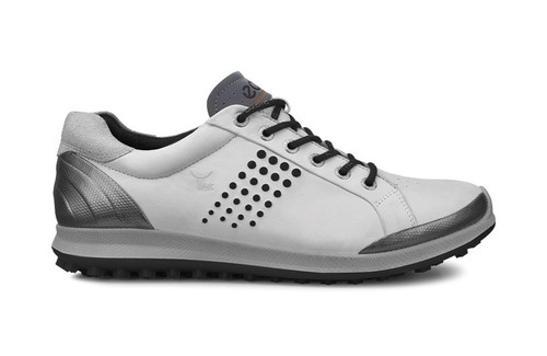 Ecco Mens Golf Biom Hybrid 2 White/Black Size