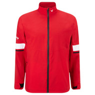 Callaway Men's Green Grass 3.0 Waterproof Jacket Tango Red Medium