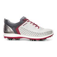 Ecco Mens Biom G2 Golf Shoes Concrete Brick