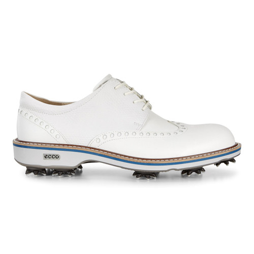 Ecco Mens Classic Lux Golf Shoes White
