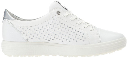Ecco Womens Casual Hybrid Golf Shoes White Dragonfly