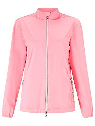 Callaway Womens 2 Layer Golf Jacket Geranium Small