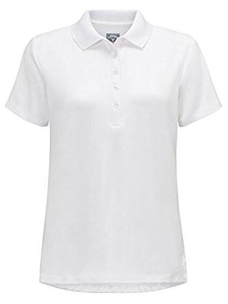 Callaway Womens Essential Golf Polo White XXL