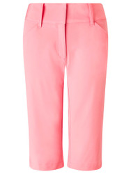 Callaway Ladies Golf City Shorts Geranium Pink Size 10