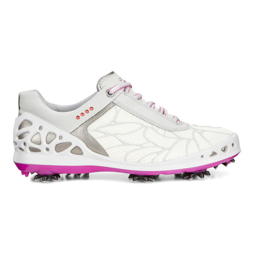 Ecco Women's Cage Concrete Textile Golf Shoes