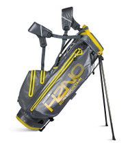 Sun Mountain H2N0 Superlite Waterproof Golf bag Gunmetal/Yellow (18H2NOSS-GY)