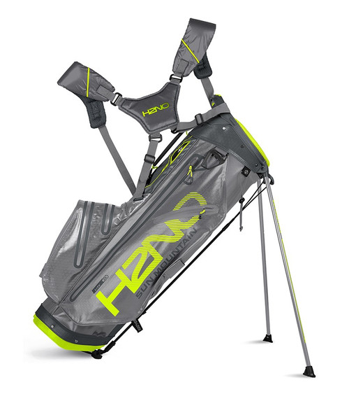 Sun Mountain H2N0 lite Waterproof Golf bag Grey/Gunmetal/Flash (18H2NOL-GCF)