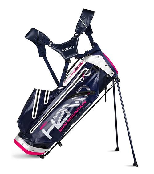 Sun Mountain H2N0 lite Waterproof Golf bag Navy/White/Hot Pink (18H2NOL-NWP)