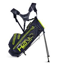 Sun Mountain H2N0 14-WAY Waterproof Golf Bag Navy/Flash (18H2NOS-NF)