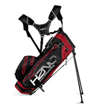 Sun Mountain H2N0 14-WAY Waterproof Golf Bag Red/Black (18H2NOS-RBW)