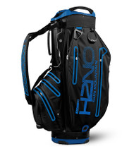 Sun Mountain Waterproof H2NO Elite Golf Bag Black/Blue (18H2NOEC-BC)