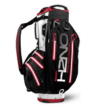 Sun Mountain Waterproof H2NO Elite Golf Bag Black/White/Red (18H2NOEC-BWR)