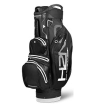Sun Mountain Waterproof H2NO Lite Golf Bag Black/White (18H2NOCL-BW)