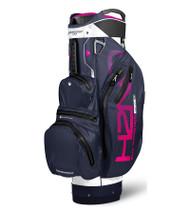 Sun Mountain Waterproof H2NO Lite Golf Bag White/Navy/Pink (18H2NOCL-WNP)