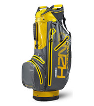 Sun Mountain H2NO Superlite Golf Bag Gunmetal/Yellow (18H2NOSC-GY)