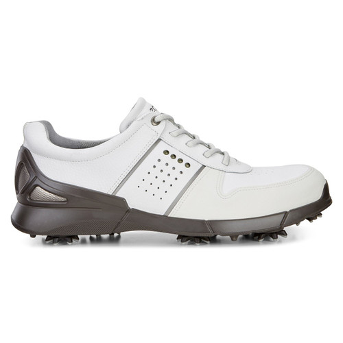 Ecco Mens Base One Golf Shoes White Mimosa