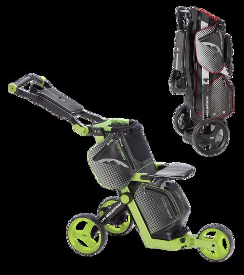 Sun Mountain Combo Cart Black/Lime (16COM-BL)