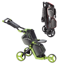 Sun Mountain Combo Cart Black/Lime (16COM-BL)