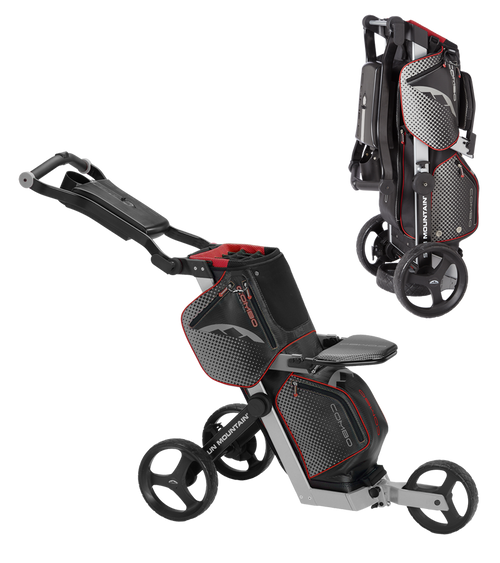Sun Mountain Combo Cart Black/Red (16COM-BSR)