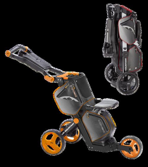 Sun Mountain Combo Cart Black/Orange (16COM-BO)