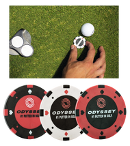 Callaway ODYSSEY Poker Chip BAll Markers (CALC11109)