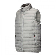 JRB Mens Golf Gillet Bodywarmer Light Grey