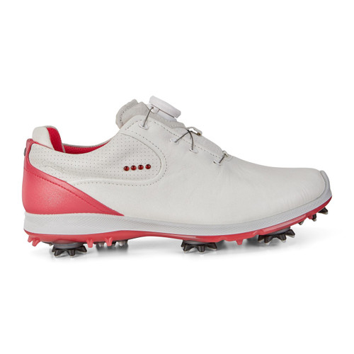 Ecco Women's Biom G2 Boa Golf Shoes White Teaberry New for 2018
