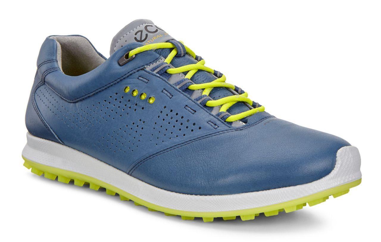 d546fb070fac Ecco Mens Golf Biom Hybrid 2 Denim Blue Sulphur Size 44 (UK 9.5-10 ...