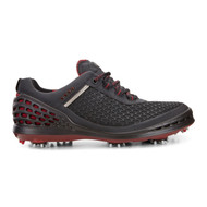 Ecco Mens Cage Golf Shoes Black Brick