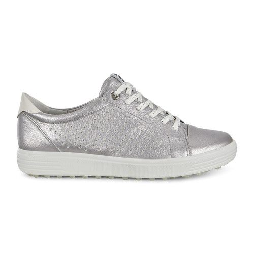Ecco Womens Casual Hybrid Golf Shoes Alusilver
