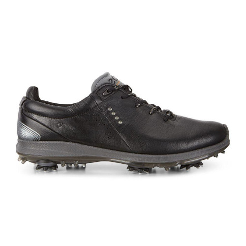 Ecco Mens Biom G2 Goretex Golf Shoes Black Transparent